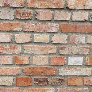 lico z ciętej cegły